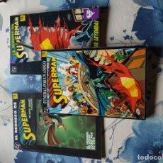 Cómics: SUPERMAN MUERTE+ REGRESO+ FUNERAL POR UN AMIGO+ 10 NUMEROS REINADO SUPERHEROES. Lote 143277850