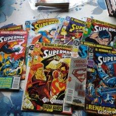 Cómics: 10 NUMEROS REINADO SUPERHEROES SUPERMAN. Lote 211262155