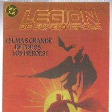 Cómics: LEGION DE SUPER HEROES. Nº 7. ZINCO, AÑO 1987. Lote 143299396