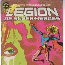 Cómics: LEGION DE SUPER HEROES. Nº 11. ZINCO, AÑO 1987. Lote 143299628
