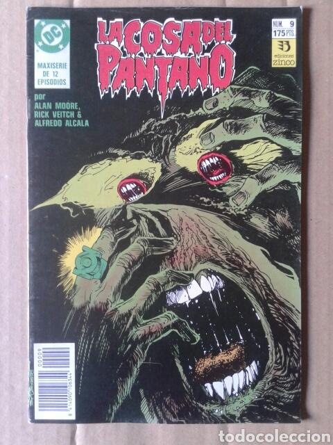 Cómics: Lote La Cosa del Pantano (números 1-2-4-6-8-9 de la maxiserie de 12 episodios por Alan Moore) - Foto 3 - 90961570