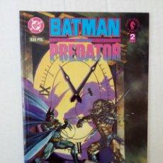 Cómics: BATMAN CONTRA PREDATOR Nº 2, POR DAVE GIBBONS, ANDY Y ADAM KUBERT. Lote 143641054