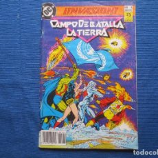 Cómics: ¡INVASION! Nº 4 CAMPO DE BATALLA LA TIERRA - DC / ZINCO. Lote 143690354