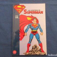 Cómics: LAS AVENTURAS DE SUPERMAN Nº 4 DE JOHN BYRNE Y DICK GIORDANO - DC / PLANETA DEAGOSTINI - DAÑADO. Lote 143692750