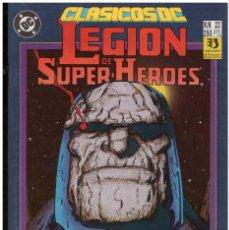 Cómics: LEGION DE SUPER HEROES. CLASICOS DC. 2 ESPECIALES 50 PAGINAS CADA UNO. EDCIONES ZINCO. Lote 143711638