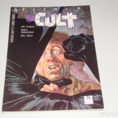 Cómics: BATMAN THE CULT LIBRO UNO. Lote 143971974