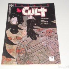 Cómics: BATMAN THE CULT LIBRO TRES. Lote 143972022
