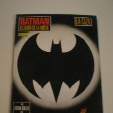 Cómics: BATMAN EL SEÑOR DE LA NOCHE - LA CAZA (LIBRO 3º) - ZINCO 1987 // FRANK MILLER DC COMICS. Lote 144016534
