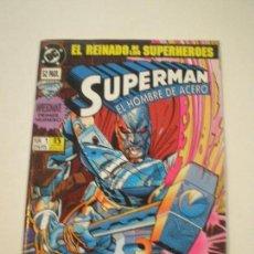 Cómics: SUPERMAN EL HOMBRE DE ACERO - Nº 1 ¡RENACIDO! - ZINCO 1993 // SIMONSON BGDANOVE JANKE DC GRAPA Nº1. Lote 144018590