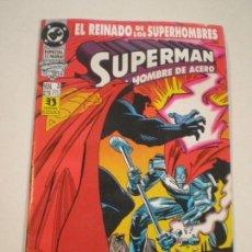Cómics: SUPERMAN EL HOMBRE DE ACERO- Nº 3 IRON JOHN CONTRA EL ULTIMO HIJO DE KRYPTON - ZINCO 1993 // DC Nº3. Lote 144019542