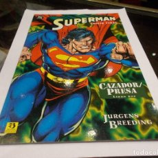 Cómics: SUPERMAN DC ZINCO JUICIO FINAL CAZADOR PRESA LIBRO DOS (SR). Lote 144039038