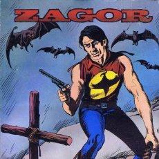 Cómics: ZAGOR. EDICIONES ZINCO. ETAPA COMPLETA: 10 TOMOS. RUSTICA. Lote 144099314
