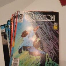 Cómics: QUESTION, DENNIS O'NEILL / COWAN, COMPLETA, 36 NÚMEROS. Lote 144242082