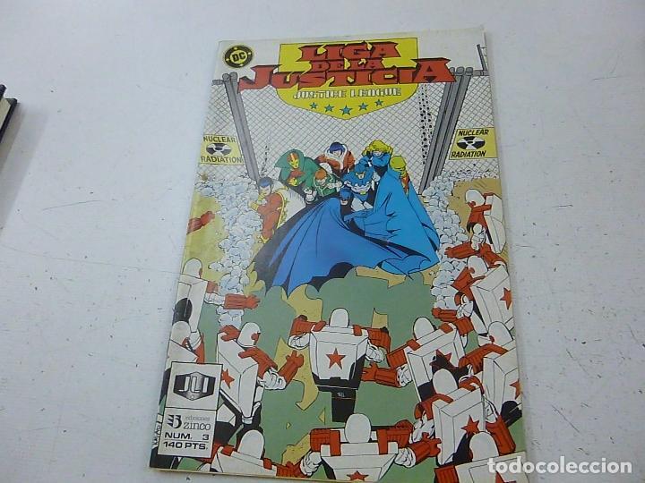 LIGA DE LA JUSTICIA-NUMERO 3 -ZINCO -N (Tebeos y Comics - Zinco - Liga de la Justicia)