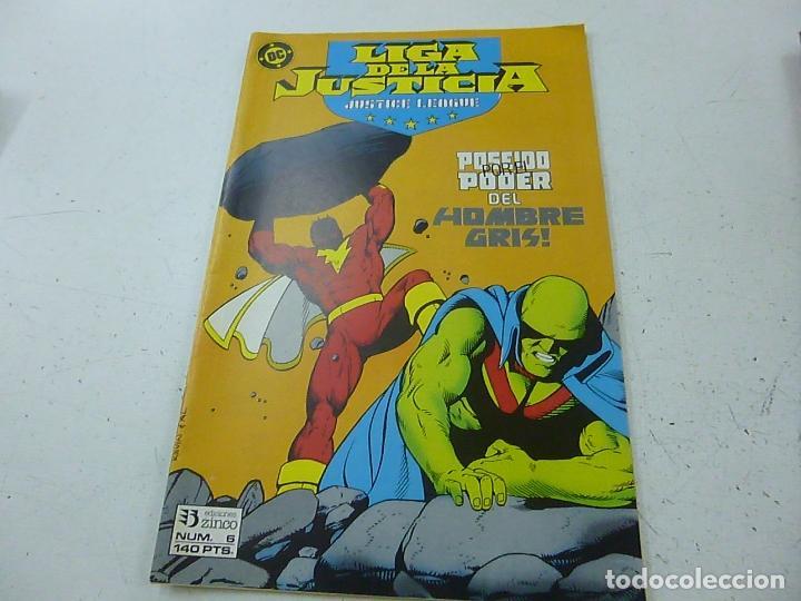LIGA DE LA JUSTICIA-NUMERO 6-ZINCO -N (Tebeos y Comics - Zinco - Liga de la Justicia)