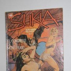 Comics: CÓMIC SUKIA Nº 64 EL CONGRESO DE LOS MONSTRUOS EL VAMPIRO DEL TRANSATLANTICO 1981 EDICIONES ZINCO. Lote 144278098