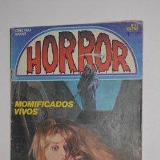 Comics: CÓMIC PARA ADULTOS HORROR Nº 43 MOMIFICADOS VIVOS 1984 EDICIONES ZINCO SEPULKRA EL REY DE LAS RATAS. Lote 144282290