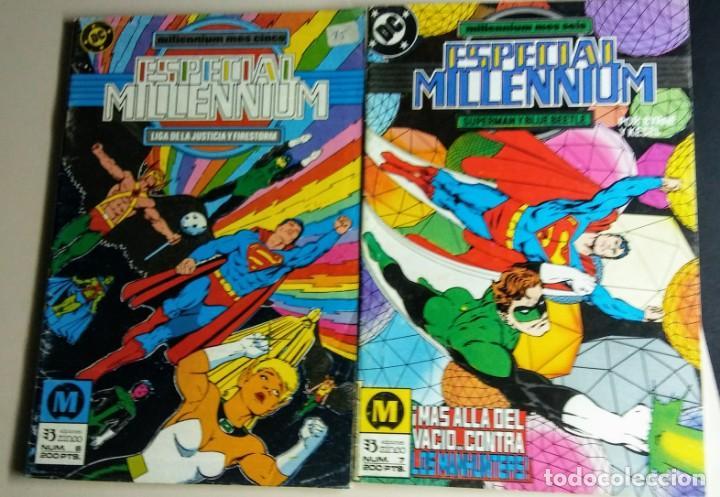 LOTE MILLENIUM AÑO 1.988 (Tebeos y Comics - Zinco - Millenium)
