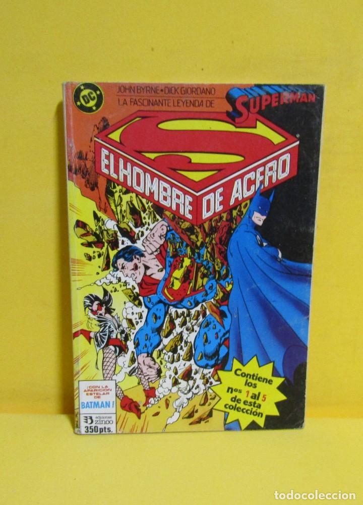 Cómics: SUPERMAN EL HOMBRE DE ACERO Nº 9 JOHN BYRNE / DICK GIORDANO EDIC. ZINCO Nº DEL 1 AL 5 AÑOS 80 - Foto 3 - 145211490