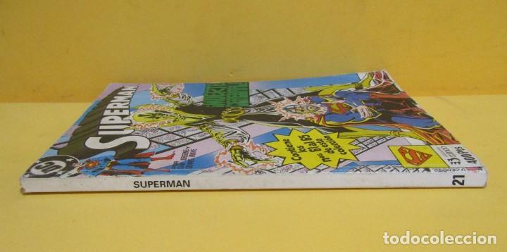 Cómics: SUPERMAN MUERTE CEREBRAL DAN JURGENS / DENNIS JANKE Nº 21 EDIC. ZINCO Nº DEL 61 AL 65 AÑOS 80 - Foto 2 - 145214074