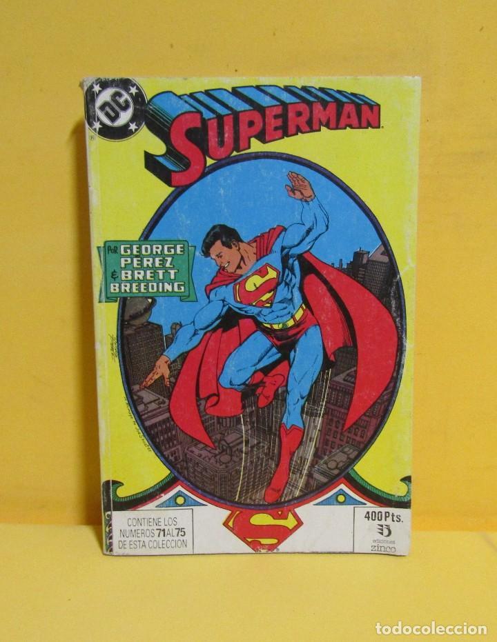 Cómics: SUPERMAN GEORGE PEREZ / BRETT BREEDING Nº 23 EDIC. ZINCO Nº DEL 71 AL 75 AÑOS 80 - Foto 2 - 145214286