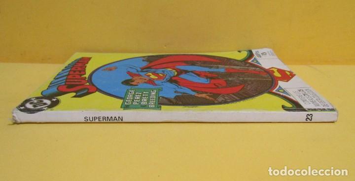 Cómics: SUPERMAN GEORGE PEREZ / BRETT BREEDING Nº 23 EDIC. ZINCO Nº DEL 71 AL 75 AÑOS 80 - Foto 3 - 145214286
