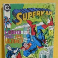Cómics: SUPERMAN LOBO RIE ¡EL ULTIMO! Nº 27 EDIC. ZINCO Nº DEL 91 AL 95 AÑOS 80. Lote 145218070