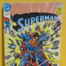 Cómics: SUPERMAN JURGENS / THIBERT Nº 30 EDIC. ZINCO Nº DEL 104 AL 108 AÑOS 80. Lote 145218086
