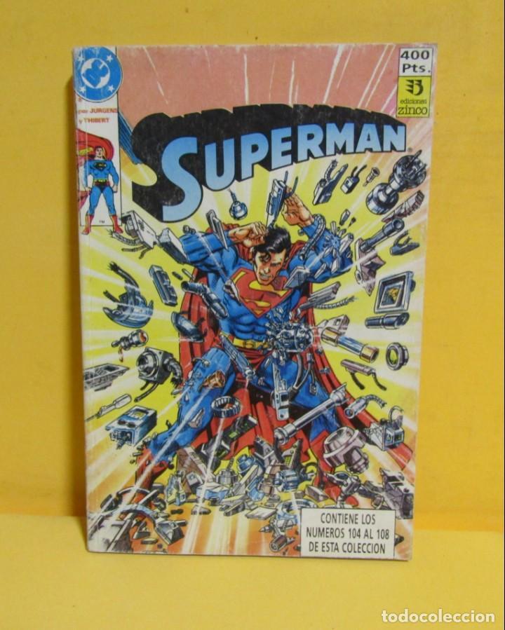 Cómics: SUPERMAN JURGENS / THIBERT Nº 30 EDIC. ZINCO Nº DEL 104 AL 108 AÑOS 80 - Foto 3 - 145218086