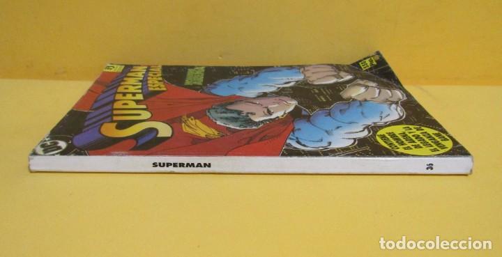 Cómics: SUPERMAN HOMBRE ARENA / EL LEGADO / VENGANZA DE BANE Nº 36 EDIC. ZINCO AÑOS 80 - Foto 2 - 145218234