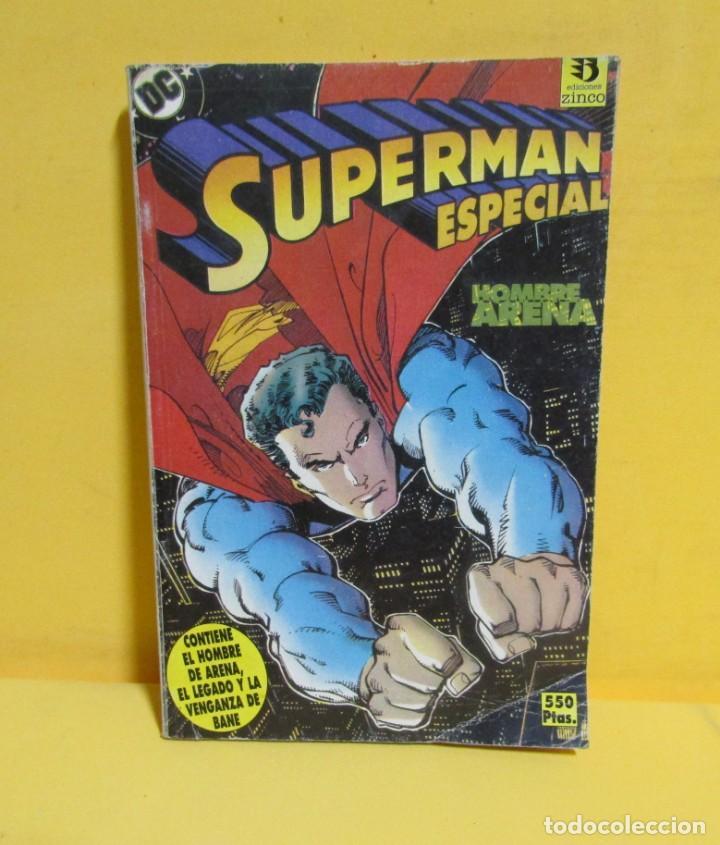Cómics: SUPERMAN HOMBRE ARENA / EL LEGADO / VENGANZA DE BANE Nº 36 EDIC. ZINCO AÑOS 80 - Foto 3 - 145218234