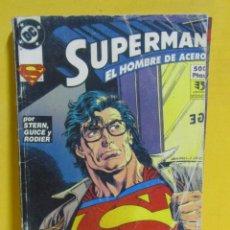 Cómics: SUPERMAN EL HOMBRE DE ACERO STERN /GUICE / RODIER Nº 39 EDIC. ZINCO CONTIENE DEL Nº 5 AL 8. Lote 145218282
