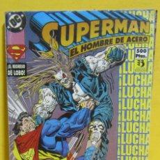 Cómics: SUPERMAN EL HOMBRE DE ACERO SIMONSON / BOGDANOVE / JANKE Nº 40 EDIC. ZINCO CONTIENE DEL Nº 9 AL 11. Lote 145218314