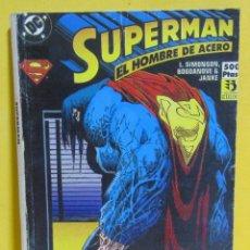 Cómics: SUPERMAN EL HOMBRE DE ACERO SIMONSON / BOGDANOVE / JANKE Nº 41 EDIC. ZINCO CONTIENE DEL Nº 12 AL 14. Lote 145218374