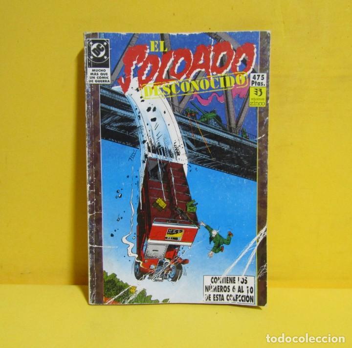 Cómics: EL SOLDADO DESCONOCIDO EDICIONES ZINCO RETAPADOS CONTIENE LOS NUMEROS DEL 6 AL 10 AÑOS 80 - Foto 3 - 145225366