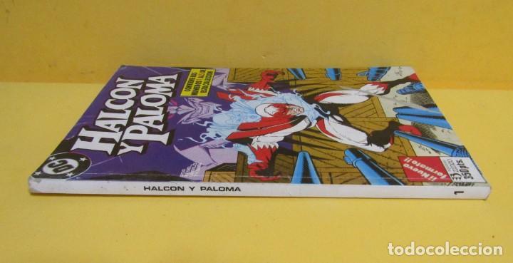 Cómics: HALCON Y PALOMA EDICIONES ZINCO RETAPADOS CONTIENE LOS NUMEROS DEL 1 AL 5 AÑOS 80 - Foto 2 - 145225650