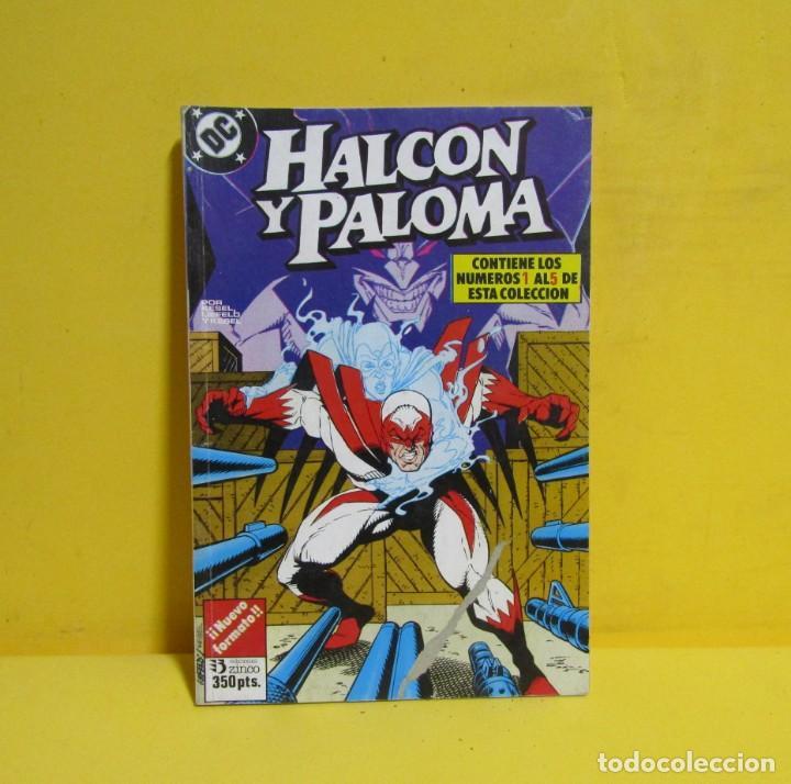 Cómics: HALCON Y PALOMA EDICIONES ZINCO RETAPADOS CONTIENE LOS NUMEROS DEL 1 AL 5 AÑOS 80 - Foto 3 - 145225650