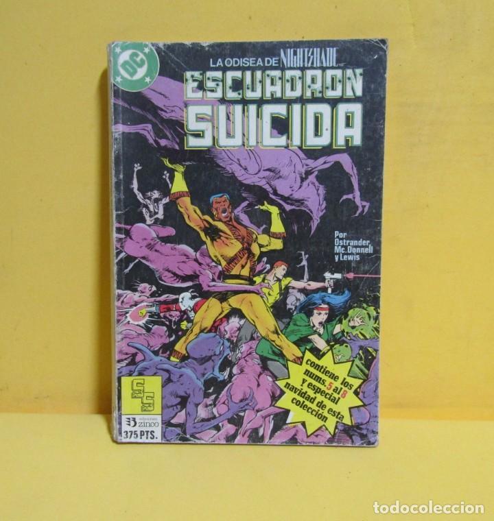 Cómics: ESCUADRON SUICIDA TOMO 2 EDICIONES ZINCO RETAPADOS CONTIENE LOS NUMEROS DEL 5 AL 8 AÑOS 80 - Foto 3 - 145228222