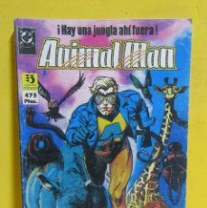 Cómics: ANIMAL MAN TOMO 1 EDICIONES ZINCO RETAPADOS CONTIENE LOS NUMEROS DEL 1 AL 5 AÑOS 80. Lote 145228546