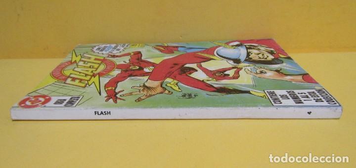Cómics: FLASH 50 ANIVERSARIO EDICIONES ZINCO RETAPADO CONTIENE LOS NUMEROS DEL 1 AL 5 AÑOS 80 - Foto 2 - 145228998