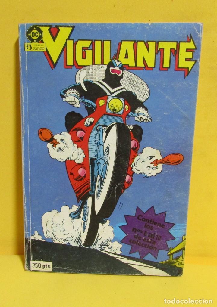 VIGILANTE EDICIONES ZINCO RETAPADO CONTIENE LOS NUMEROS DEL 6 AL 10 AÑOS 80 (Tebeos y Comics - Zinco - Retapados)