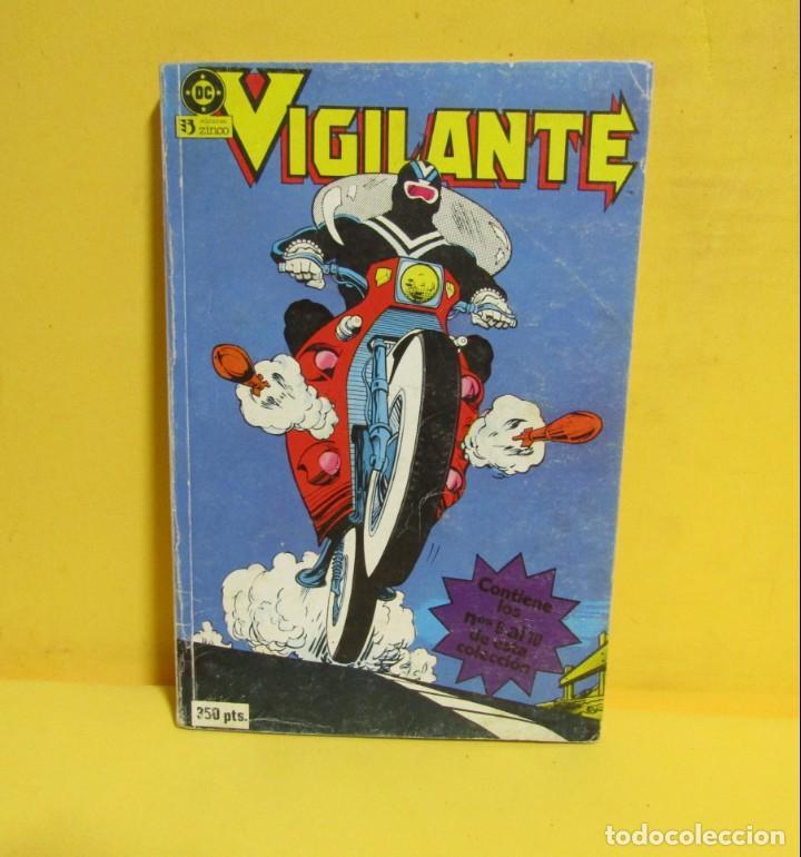 Cómics: VIGILANTE EDICIONES ZINCO RETAPADO CONTIENE LOS NUMEROS DEL 6 AL 10 AÑOS 80 - Foto 3 - 145229222