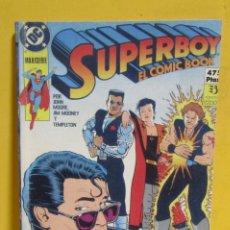 Cómics: SUPERBOY EL COMIC BOOK EDICIONES ZINCO RETAPADO CONTIENE LOS NUMEROS DEL 4 AL 7 AÑOS 80. Lote 145229738