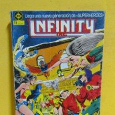 Cómics: INFINITY Nº 1 EDICIONES ZINCO RETAPADO CONTIENE LOS NUMEROS DEL 1 AL 5 AÑOS 80. Lote 145246762