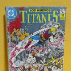 Cómics: LOS NUEVOS TITANES Nº 4 EDICIONES ZINCO RETAPADO CONTIENE LOS NUMEROS DEL 17 AL 21 AÑOS 80. Lote 145246902