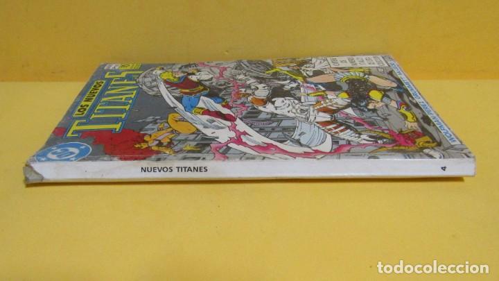 Cómics: LOS NUEVOS TITANES Nº 4 EDICIONES ZINCO RETAPADO CONTIENE LOS NUMEROS DEL 17 AL 21 AÑOS 80 - Foto 2 - 145246902