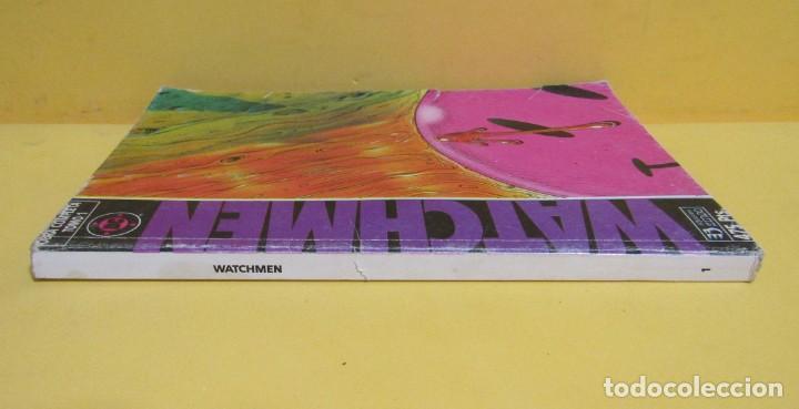 Cómics: WATCHMEN TOMO 1 OBRA COMPLETA EDICIONES ZINCO RETAPADO CONTIENE LOS NUMEROS DEL 1 AL 6 AÑOS 80 - Foto 2 - 145301338