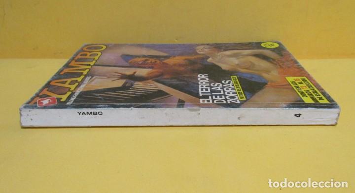 Cómics: YAMBO TOMO 4 EDICIONES ZINCO RETAPADO CONTIENE LOS NUMEROS DEL 13 AL 16 AÑOS 80 - Foto 2 - 145301350