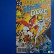 Cómics: CÓMIC DE HAWK Y DOVE AÑO 1990 Nº 1 DE EDICIONES ZINCO LOTE 2 E. Lote 145334162