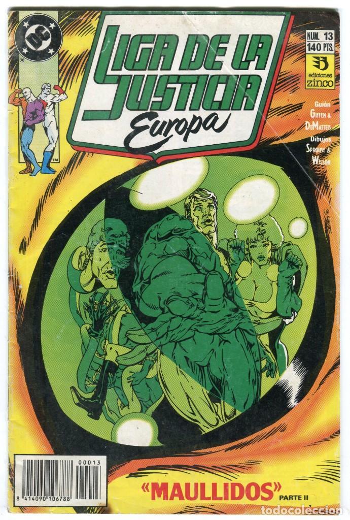 LIGA DE LA JUSTICIA EUROPA Nº 13 EDICIONES ZINCO (Tebeos y Comics - Zinco - Liga de la Justicia)
